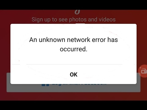 "instagram dinh loi ""an unknown network error has occurred"" phai xu ly the nao - Instagram dính lỗi ""An Unknown Network Error has Occurred"" phải xử lý thế nào?"